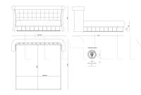 Кровать Caesar IPE Cavalli (Visionnaire)