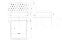 Кровать Obelisk IPE Cavalli (Visionnaire)