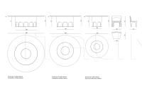 Круглый стол Coliseum IPE Cavalli (Visionnaire)