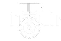 Круглый стол Phoebus IPE Cavalli (Visionnaire)