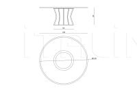 Кофейный столик Solstice IPE Cavalli (Visionnaire)
