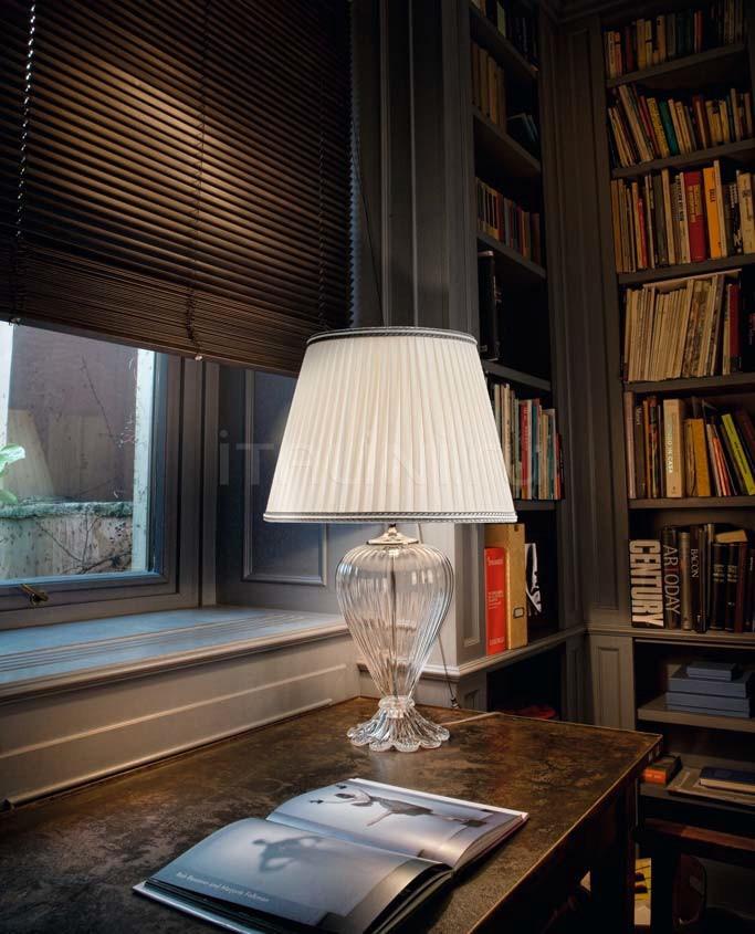 Настольный светильник Soffio 1462/52 K CR + TOP 1462/52 ARG Sylcom