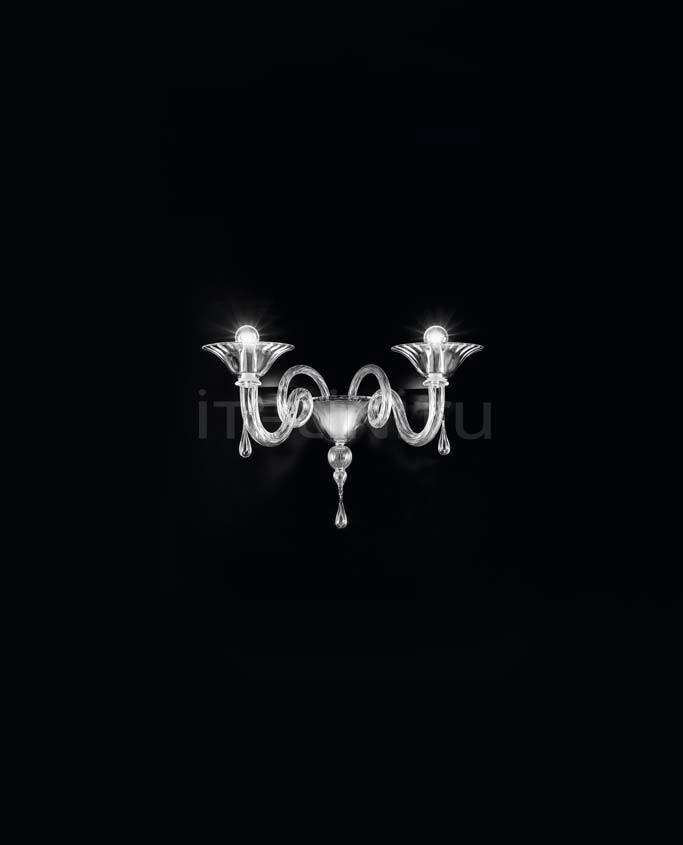 Настенный светильник Soffio 1380/A2 K CR.CR Sylcom