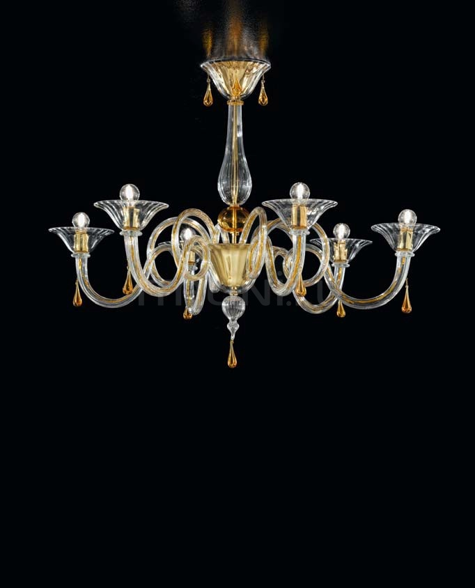 Люстра Soffio 1380/6 D CR.A Sylcom