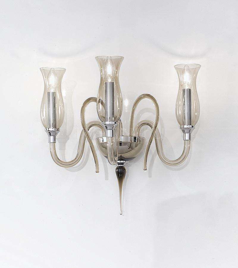 Настенный светильник Soffio 1022/A3 K FU Sylcom