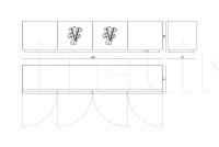 Тумба под TV Ironside IPE Cavalli (Visionnaire)