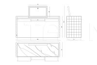 Туалетный столик Titania IPE Cavalli (Visionnaire)