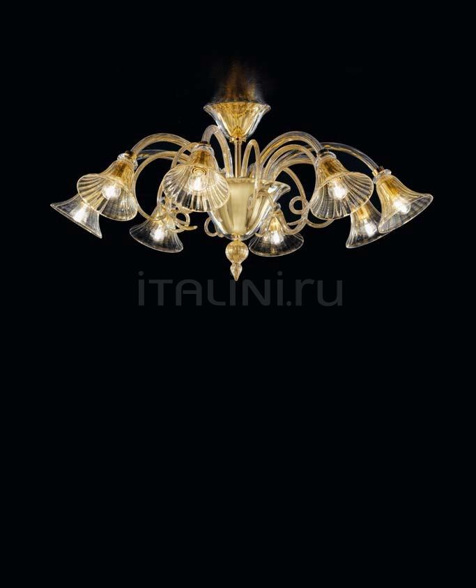 Потолочный светильник Soffio 1421/8 D CR.ORO Sylcom