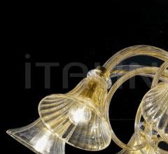 Потолочный светильник Soffio 1421/8 D CR.ORO фабрика Sylcom