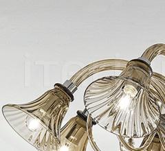Потолочный светильник Soffio 1421/5 K FU фабрика Sylcom