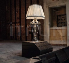 Настольный светильник Scena 1659 ARG FU + TOP 1659 ARG фабрика Sylcom
