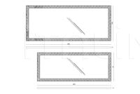 Настенное зеркало Iring IPE Cavalli (Visionnaire)