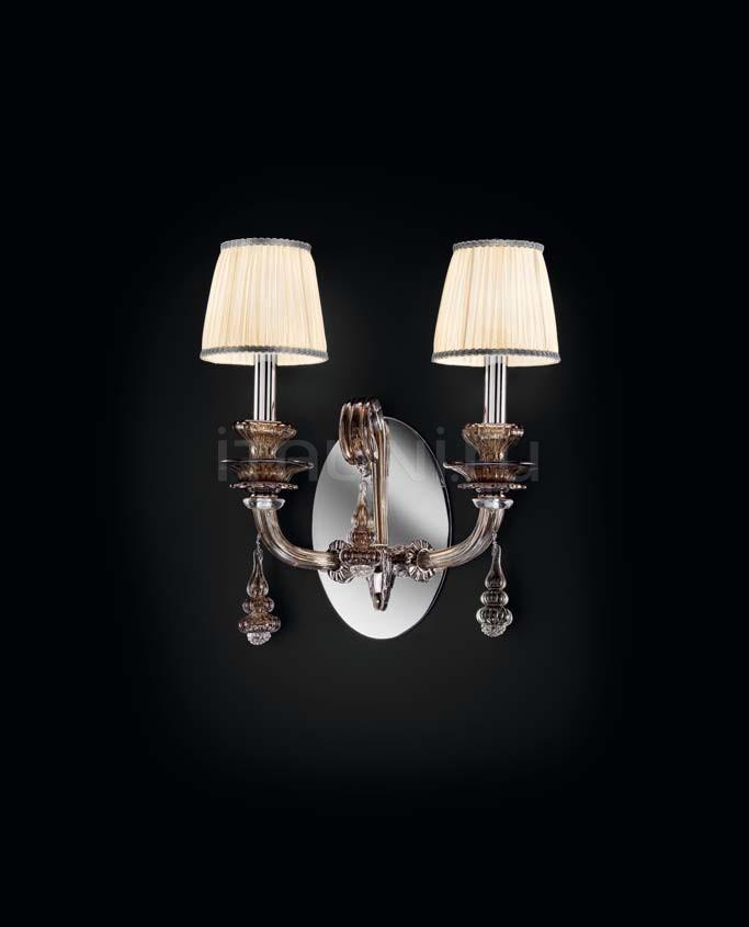 Настенный светильник Scena 1651/A2 ARG FU + TOP 1648 ARG Sylcom