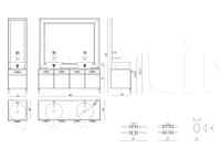 Тумба под раковину Marienbad IPE Cavalli (Visionnaire)