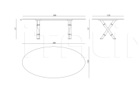Стол обеденный Estense IPE Cavalli (Visionnaire)