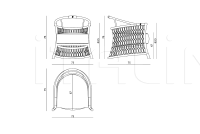 Стул Farnese IPE Cavalli (Visionnaire)