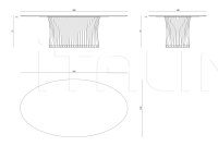 Стол обеденный Panarea IPE Cavalli (Visionnaire)