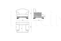 Кресло Bramante IPE Cavalli (Visionnaire)