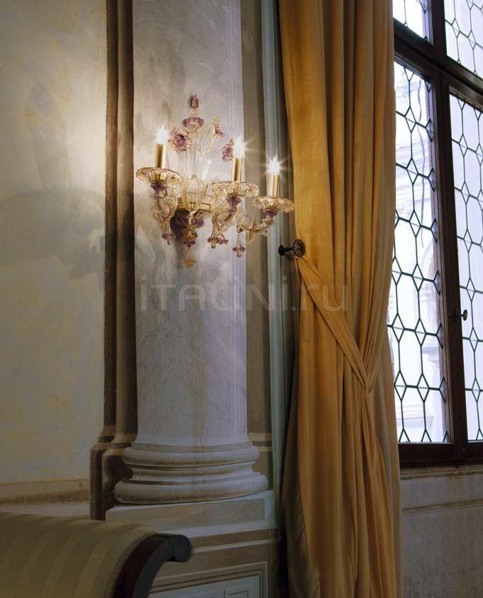 Настенный светильник Scena 1474/A3 PO AMT.ORO Sylcom