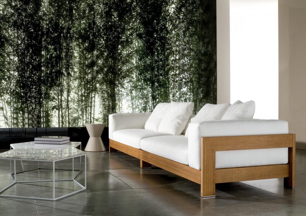 Модульный диван Alison iroko Minotti