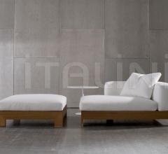 Модульный диван Alison iroko фабрика Minotti