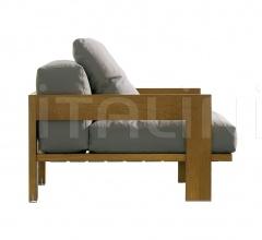Кресло Alison iroko фабрика Minotti
