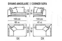 Модульный диван Andersen Minotti