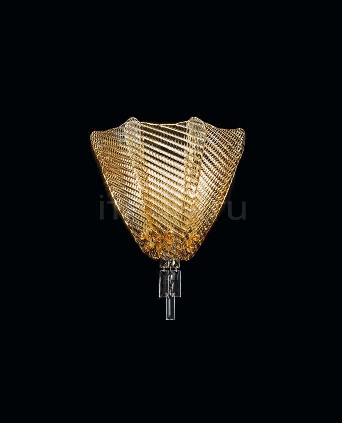 Настенный светильник Suite 421/A2 AMB Sylcom