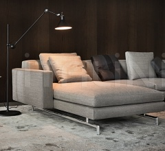 Модульный диван Sherman.93 фабрика Minotti