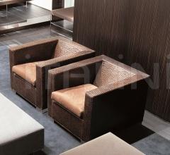 Кресло Suitcase фабрика Minotti