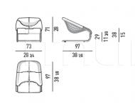 Кресло Cortina Minotti
