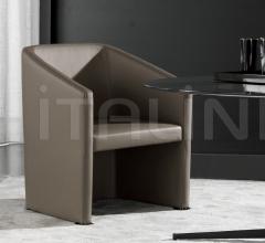 Стул с подлокотниками Loving-Lounge фабрика Minotti