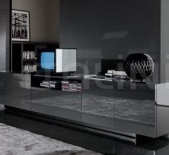 Тумба под TV Harvey Line фабрика Minotti