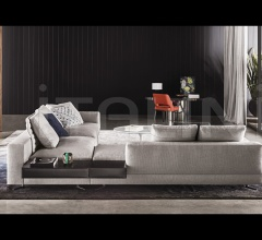 Модульный диван White фабрика Minotti