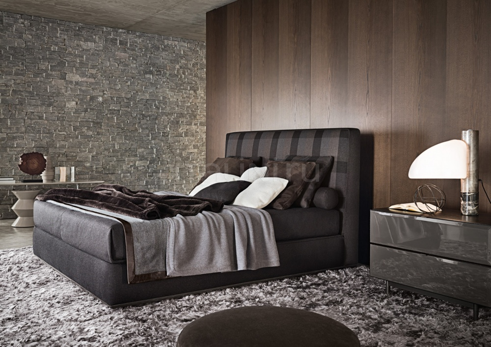 Кровать Powell bed.121 Minotti