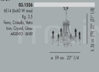 Подвесной светильник 03.1556 Banci