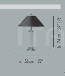 Настольный светильник 55.2184 Banci