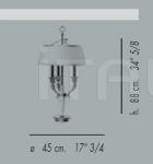 Настольный светильник 55.4423 Banci