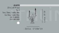 Настольный светильник 62.6210 Banci
