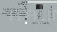 Настольный светильник 55.6216 Banci