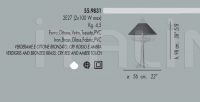 Настольный светильник 55.9831 Banci