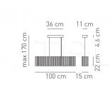 Подвесной светильник SP CLAVIU Axo Light