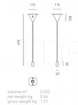 Настенно-потолочный светильник VOLUPTAS Axo Light