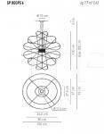 Подвесной светильник HOOPS 6 Axo Light