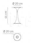 Потолочный светильник NAFIR 1 Axo Light