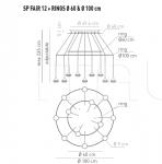 Подвесной светильник FAIRY 12 Axo Light