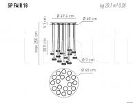 Подвесной светильник FAIRY 18 Axo Light