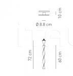 Потолочный светильник AURA 60 Axo Light