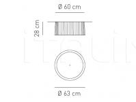 Потолочный светильник OBI Axo Light