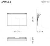 Настенный светильник POLIA G Axo Light